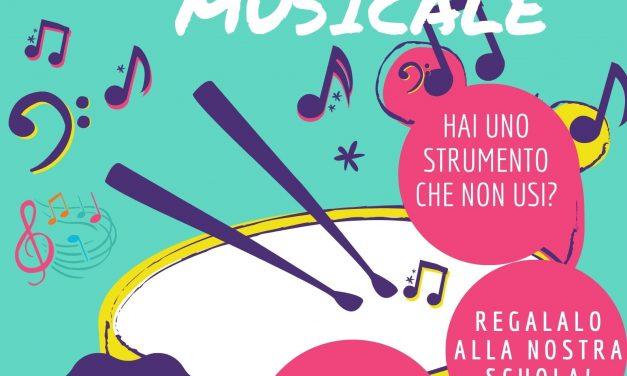 Donazione strumenti musicali.